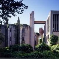 Ricardo Bofill cement factory office exterior