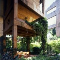 Ricardo Bofill cement factory terrace exterior