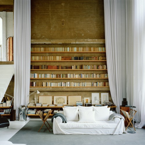 Ricardo Bofill cement factory living room