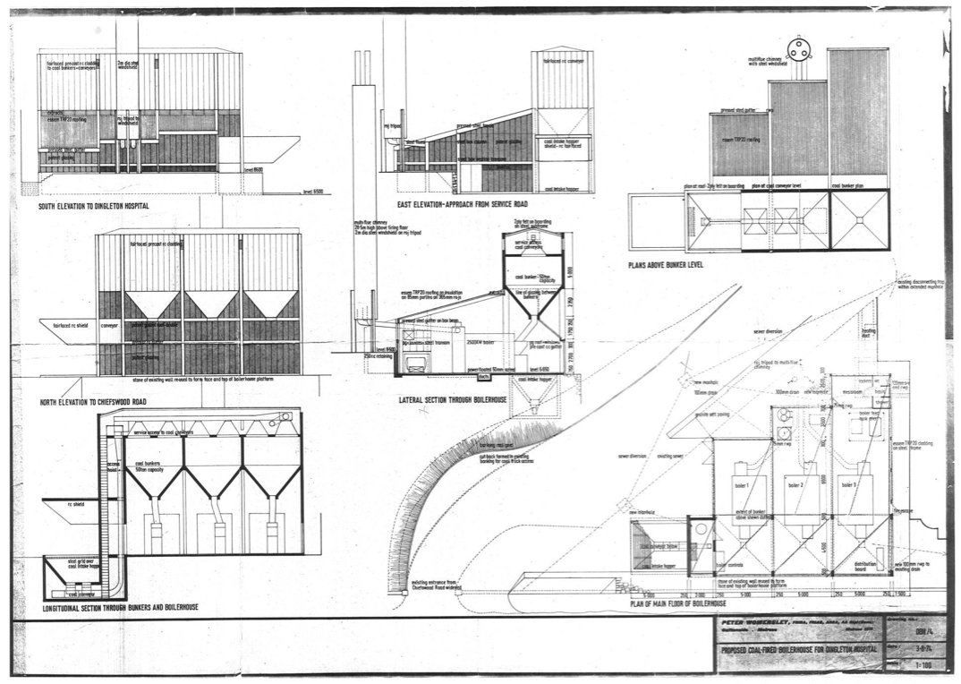 Dingleton Boilerhouse drawings