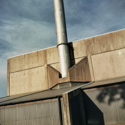 Dingleton Boilerhouse by Peter Womersley south elevation photo CJ Hurst