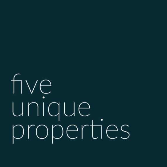 Five unique properties