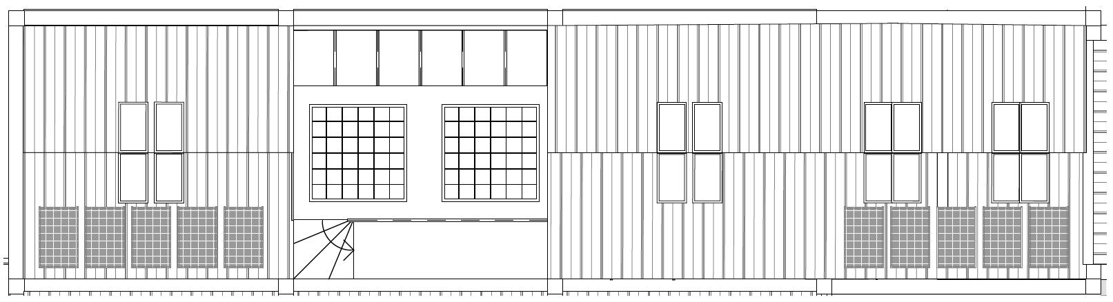Flat 2 roof plan