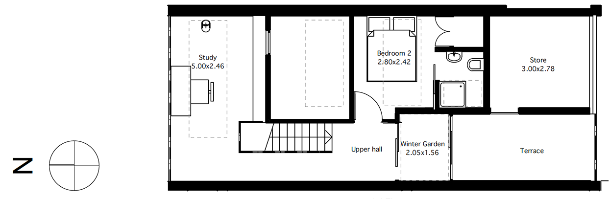 Flat 5 first floor plan
