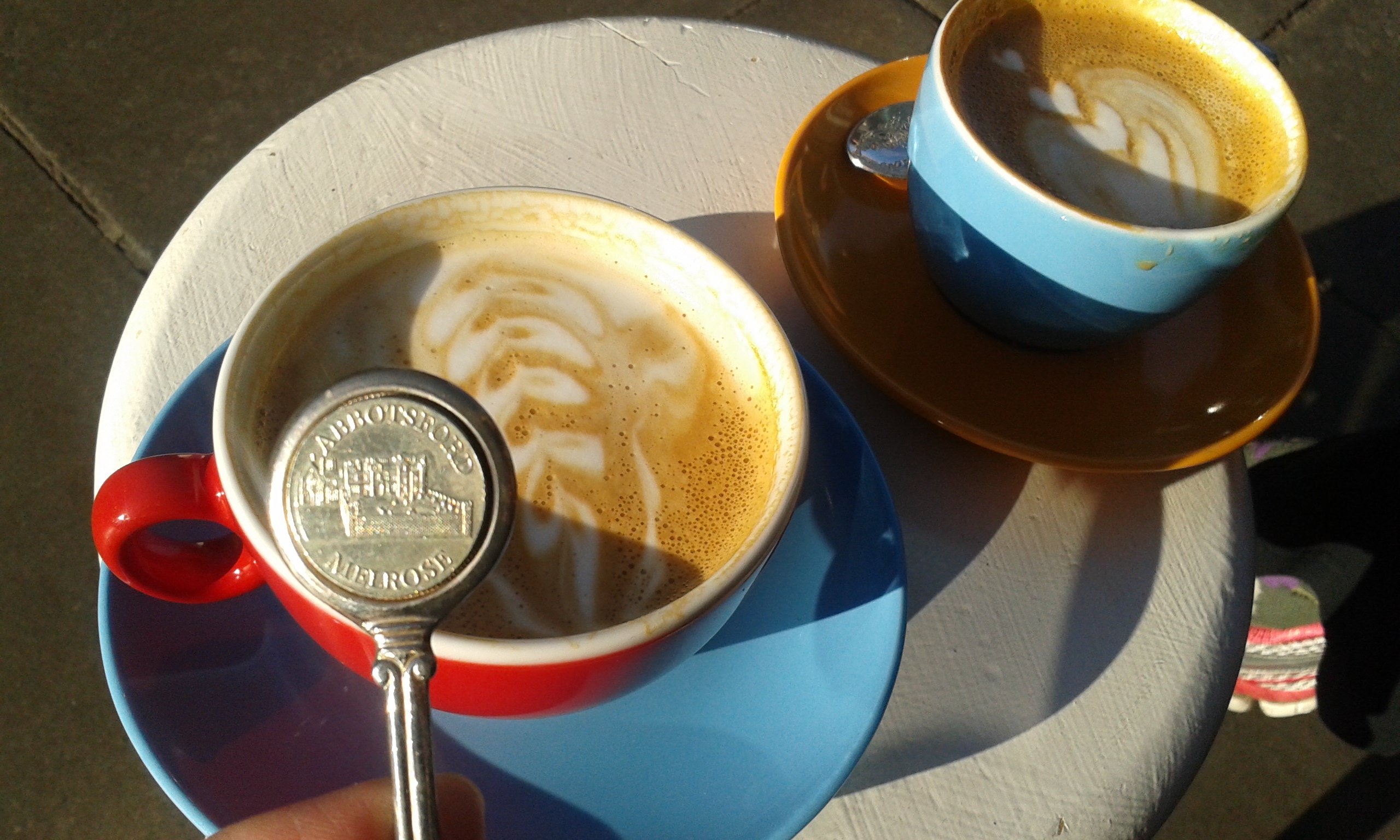 Abbotsford House spoon at Filament coffee