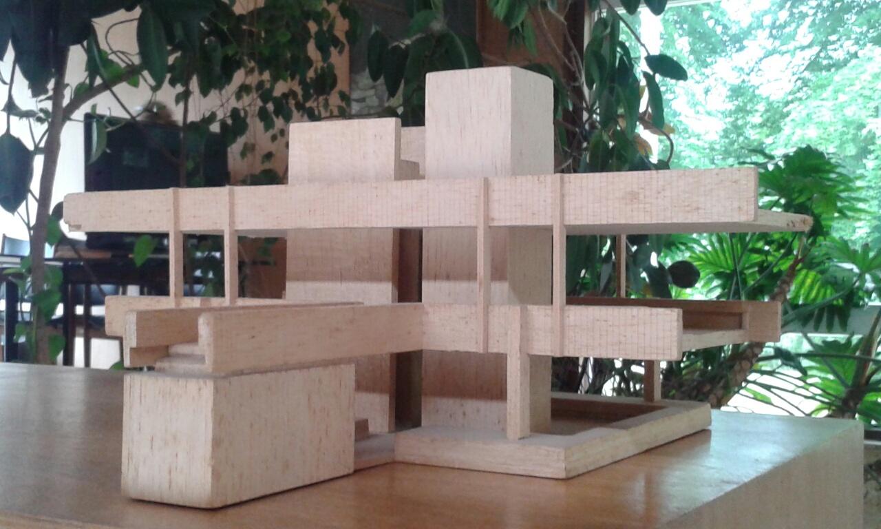 Klein Studio balsa model in collection kept at private house, High Sunderland